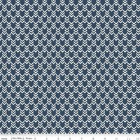 By the Sea Nautical Arrows Navy Riley Blake Fabric FQ + More 100% Cotton Craft