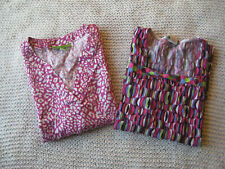 Lot 2 Scrub Tops Size Small Crocs Meical Apparel and Ws Gear