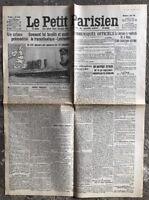 N57 La Une Du Journal Le Petit Parisien 9 Mai 1915