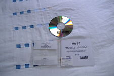 MUSE MUSCLE MUSEUM REVISED RADIO EDIT PROMO CD VERY GOOD CONDITION! VERY RARE!