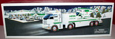 HESS TOY TRUCK AND OPERATING HELICOPTER W/REAL HEAD & TAIL LIGHTS MIB