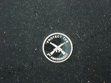 1 GRAM .999 SILVER 2nd AMENDMENT CROSSED RIFLES GUN ROUND COIN AR-15 AK NORINCO