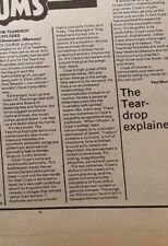 teardrop Explodes Kilimanjaro  Album review  1980  Music press
