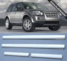 Land Rover Freelander 2 Stainless Steel Sill Protectors / Kick Plates