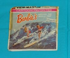 vintage BARBIE'S AROUND THE WORLD TRIP VIEW-MASTER REELS packet with booklet