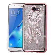 Rose Gold Dreamcatcher Sand Glitter Cover Phone Case Samsung Galaxy J7 Sky Pro