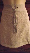 Croft & Barrow® Solid One Pocket Knit Skort Gray WMS XL NWT MSRP$32-Free Ship