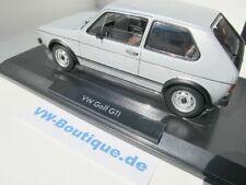 + VOLKSWAGEN VW Golf 1 GTI von NOREV in 1:18  ++ silber ++  188486