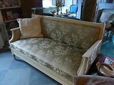 Antikes Sofa Louis XVI shabby chic bench antique french style chinoise fabrics