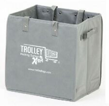 Trolley Bags XTRA BAG 34x24x34cm 15kg Capacity, Folds Up For Easy Storage GREY