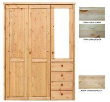 Kleiderschränke im Landhaus-Stil aus Massivholz mit 3 Türen