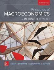 Principles of Macroeconomics, A Streamlined Approach by Frank, Robert, Bernanke