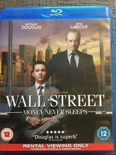 Wall Street Money Never Sleeps - English  Blu Ray