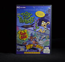 DAY OF THE TENTACLE SAM & MAX DOUBLE point and click PC ADVENTURE GAME box boxed