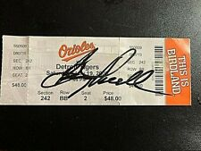BOOG POWELL SIGNED BALTIMORE ORIOLES VS. DETROIT TIGERS TICKET 7/19/08