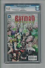 Batman Beyond Unlimited #10 CGC 9.8 NM/MT DC Comics 1/13 Dustin Nguyen Cover