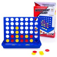 Large Connect 4 In 1Line Educational Board Game for Kids Family h8Y