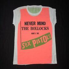 Sex Pistols vintage T Shirt EX Cond! 1977 Never Mind The Bollocks Promo 70s punk