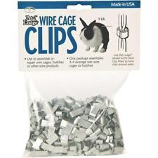 Pet Lodge J-Clip 1 Lb. Metal Wire Cage Clip Acc1 - 1 Each