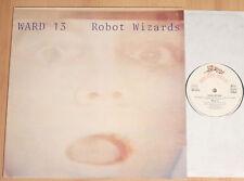 "WARD 13 - Robot Wizards  (WOOLFE 1981 / 5-track-12""-MAXI / NEAR MINT)"
