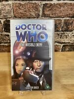 Doctor Who: The Invisible Enemy -Vhs- Tom Baker