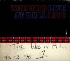 Live at Hull 1970 Digipak The Who (2) CD 2012 Polydor Pete Townshend