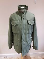 ALPHA INDUSTRIES Military Coat Size M/L Green