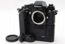 【Rare! Late model】 Nikon F3 eyelevel SLR camera w/ Motor Drive MD-4 MK-1 Y3486