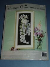 HERITAGE COLLECTION RHYTHMS IN LACE CREWEL EMBROIDERY KIT 00915 ELSA WILLIAMS