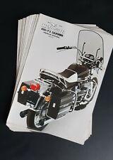 850-T3  Revue publicité MOTO GUZZI 850 - T3 California prospectus catalogue