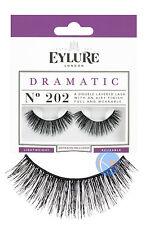 Eylure dramático falso las pestañas falsas ojo Lash 202 Doble Pestañas. Reutilizables.
