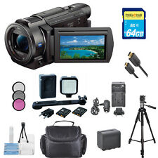 Sony FDR-AX33 4K Ultra HD Handycam Camcorder!! PRO BUNDLE!! BRAND NEW !!