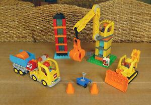Lego Duplo 10813 Large Construction Site + Extras!