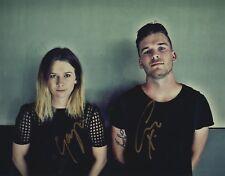 "Broods band REAL hand SIGNED 8x10"" Photo #2 COA Georgia & Caleb Nott"