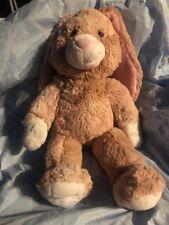 Build A Bear Rabbit Floppy Ears Tan Bunny