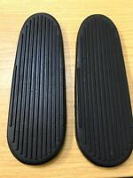 Pair INDIAN MOTORCYCLE FOOTBOARDS SCOUT CHIEF FOUR CYLINDER BIKE 1940-1953