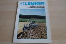 128037) Lemken Aufsattel-Drehpflüge EuroTitan VariTitan Prospekt 01/2007