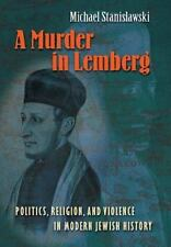 Stanislawski Michael-A Murder In Lemberg  BOOK NEW