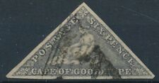 [2121] Cape good hope triangular stamp very fine used. Sign Scheller