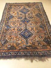 antico-swiss Beautiful Antique indoGHASHGHAII rug  5`4 x 8`3 ft