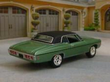 RESTO MOD 1968 68 Chevrolet Impala V-8 Custom Coupe 1/64 Scale Limited Edition A