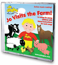 NEW! JO VISITS THE FARM SINGALONG CD Songs Rhymes Kids Nursery Music Jingles