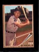 1962 TOPPS #73 NELLIE FOX EX WHITE SOX HOF *SBA6537