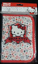 gefüllte Hello Kitty Federmappe + 2 Ringe und Anspitzer Tasche Schule Mädchen