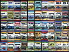 Collection of 100 Different US USA Train/Railway/Railroad/Locomotive Stamps