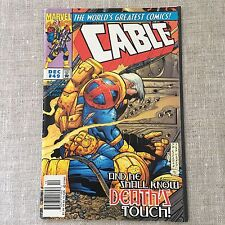 """Cable Comic Book Marvel Comics Vol 1 #49 """"And He'll Know Death's Touch"""" 1997"""