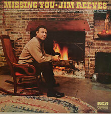 """JIM REEVES - MISSING YOU -1972 RCA VICTOR LSP-4749 12"""" LP (X 167)"""