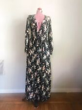 CHRISTY DAWN maxi long sleeves floral DRESS - size M or 6/8