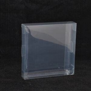 Clear Plastic Sleeves Box Protectors For Gameboy Advance Color GBC GBA Game Case