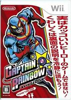 Wii Captain Rainbow Japanese Version Game w/Tracking# F/S New from Japan